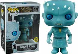Photo du produit Game of Thrones Funko Pop Night King Version Glow in the dark Edition Limitée