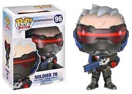 FUNKO POP OVERWATCH SOLDIER 76 EXCLUSIVE