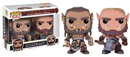 WARCRAFT PACK 2 FUNKO POP! MOVIES DUROTAN & OGRIM