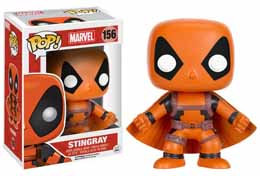 FUNKO POP DEADPOOL RAINBOW SQUAD STINGRAY LIMITED EDITION