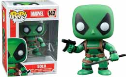 MARVEL COMICS FUNKO POP DEADPOOL RAINBOW SQUAD SOLO