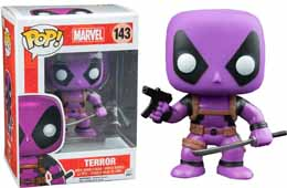 MARVEL COMICS FUNKO POP DEADPOOL RAINBOW SQUAD TERROR