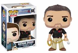 UNCHARTED POP! GAMES VINYL FIGURINE NATHAN DRAKE NAUGHTY DOG