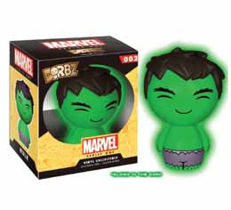 MARVEL DORBZ SERIE 1 VINYL FIGURINE HULK GLOW IN THE DARK