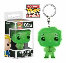 FALLOUT PORTE-CLES POCKET POP! VINYL VAULT BOY GLOW IN THE DARK 4 CM