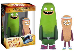 FUNKO PICKLE AND PEANUT PACK 2 VINYL FIGURINES PICKLE & PEANUT 11 - 15 CM