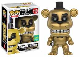 SDCC 2016 FUNKO POP GOLDEN FREDDY FIVE NIGHTS AT FREDDY'S