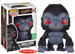 SDCC 2016 FUNKO POP THE FLASH GORILLA GRODD EXCLUSIVE 15 CM