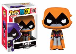 TEEN TITANS GO! FUNKO POP RAVEN (ORANGE)