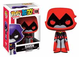 TEEN TITANS GO! FUNKO POP RAVEN (RED)