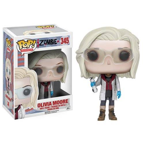 FUNKO POP IZOMBIE OLIVIA MOORE WITH GLASSES