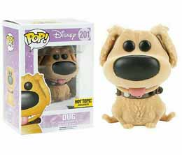 DISNEY LA HAUT FUNKO POP DUG FLOCKED LIMITED EDITION