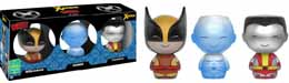SDCC 2016 FUNKO DORBZ ICE-MAN/COLOSSUS/WOLVERINE EXCLUSIVE