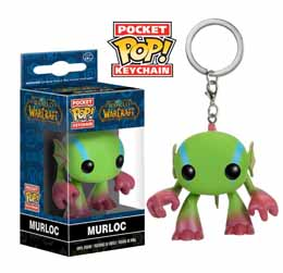 WORLD OF WARCRAFT PORTE-CLE POCKET POP! MURLOC