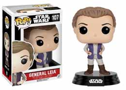 STAR WARS EPISODE VII POP! VINYL BOBBLE HEAD GENERAL LEIA
