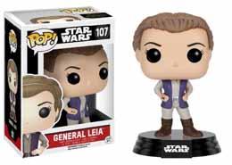 STAR WARS EPISODE VII POP! VINYL BOBBLE HEAD GENERAL LEIA