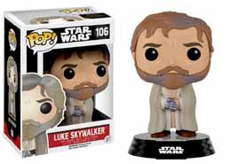 STAR WARS EPISODE VII POP! VINYL BOBBLE HEAD LUKE SKYWALKER (BEARDED)