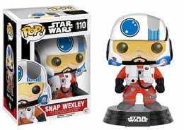 STAR WARS EPISODE VII POP! VINYL BOBBLE HEAD SNAP WEXLEY