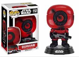 Photo du produit STAR WARS EPISODE VII POP! VINYL BOBBLE HEAD GUAVIAN