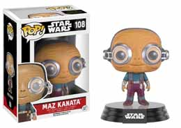 STAR WARS EPISODE VII POP! VINYL BOBBLE HEAD MAZ KANATA