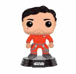 STAR WARS EPISODE VII POP! VINYL BOBBLE-HEAD FIGURE POE DAMERON JUMPSUIT LIMITED
