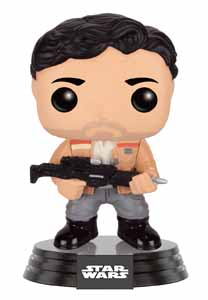 STAR WARS EPISODE VII POP! VINYL BOBBLE HEAD POE DAMERON (RESISTANCE)