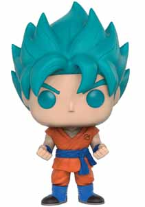 DRAGONBALL Z RESURRECTION FUNKO POP! SUPER SAIYAN GOD SUPER SAIYAN GOKU (BLUE)