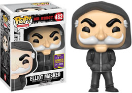 SDCC 2017 FUNKO POP MR. ROBOT ELLIOT MASKED EXCLUSIVE -MR ROBOT