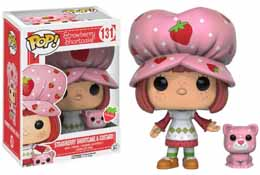 CHARLOTTE AUX FRAISES FUNKO POP STRAWBERRY SHORTCAKE & CUSTARD