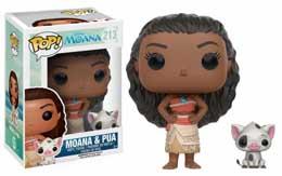 MOANA LA PRINCESSE AU BOUT DU MONDE POP DISNEY VAIANA & PUA