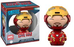 CAPTAIN AMERICA CIVIL WAR DORBZ VINYL FIGURINE IRON MAN (UNMASKED)