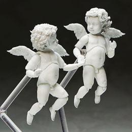 Photo du produit THE TABLE MUSEUM PACK 2 FIGURINES FIGMA ANGEL 10 CM Photo 1