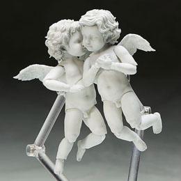 Photo du produit THE TABLE MUSEUM PACK 2 FIGURINES FIGMA ANGEL 10 CM Photo 3