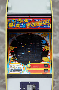NAMCO ARCADE MACHINE COLLECTION REPLIQUE 1/12 PAC-MAN 14 CM