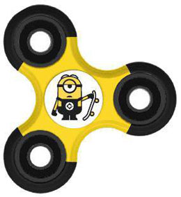 Photo du produit MOI, MOCHE ET MECHANT FIDGET SPINNER / HAND SPINNER MINION STUART