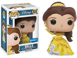 Photo du produit FUNKO POP PRINCESSE BELLE ROBE DE BAL VERSION LIMITÉE PAILLETÉE