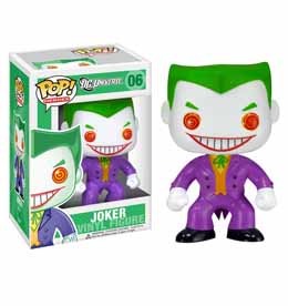 DC HEROES FUNKO POP BATMAN JOKER
