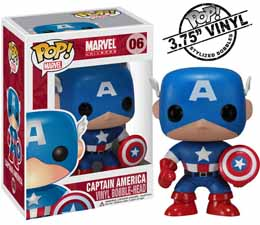 MARVEL FUNKO POP CAPTAIN AMERICA