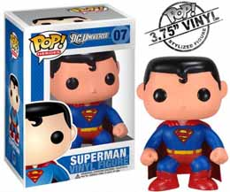 DC UNIVERSE FUNKO POP SUPERMAN