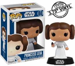 STAR WARS POP PRINCESS LEIA FIGURINE FUNKO