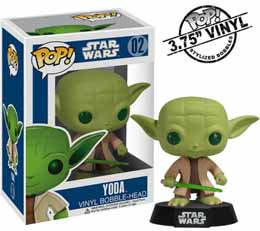 Photo du produit FIGURINE FUNKO POP STAR WARS YODA
