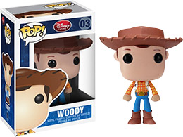 FIGURINE FUNKO POP DISNEY WOODY - TOY STORY