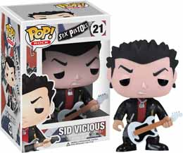 Photo du produit FUNKO POP SEX PISTOLS SID VICIOUS