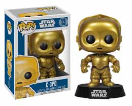FIGURINE FUNKO POP STAR WARS C-3PO