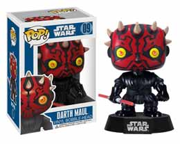 FIGURINE FUNKO POP STAR WARS DARTH MAUL