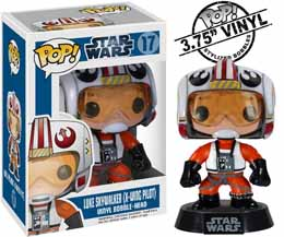 FIGURINE FUNKO POP STAR WARS LUKE SKYWALKER PILOT