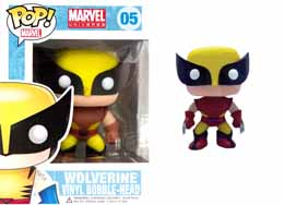 MARVEL POP EXCLUSIVE WOLVERINE BROWN FIGURINE