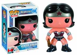 DC COMICS NEW 52 POP WONDER WOMAN EXCLU SANS STICKER