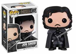 Photo du produit FUNKO POP GAME OF THRONES JON SNOW