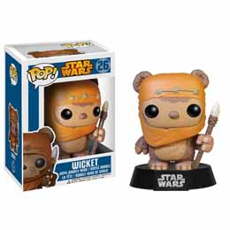 FIGURINE FUNKO POP STAR WARS WICKET